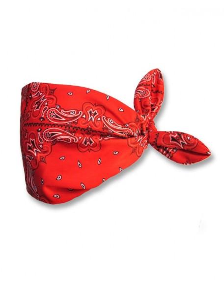 BANDANA RED Haarband breit für Mama