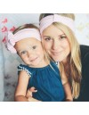 BABY BLUSH PINK Mom & Mini Headband