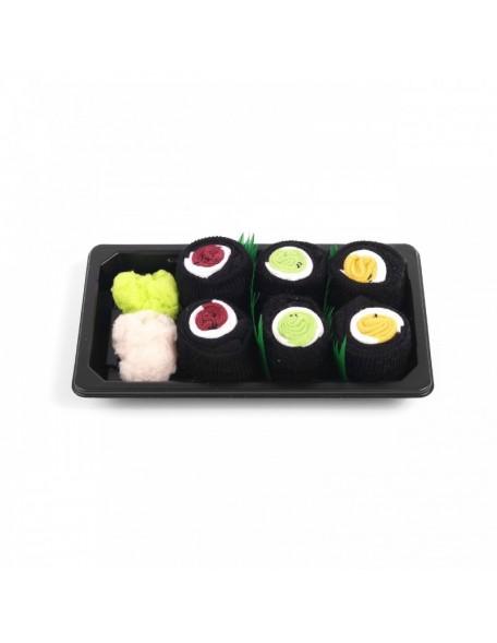 SUSHI SOCKS BOX – 3 PAAR