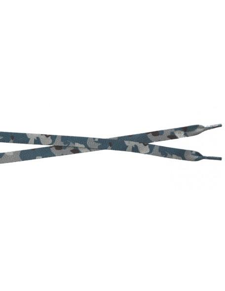 CAMOUFLAGE BLUE Schnürsenkel