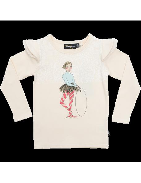 HULA GIRL OATMEAL Langarmshirt