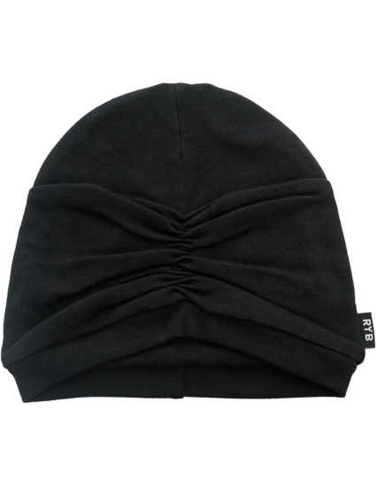 CLOCHE BABY Hat Black
