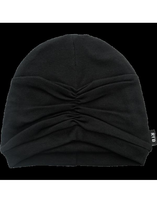 CLOCHE BABY Hat Black