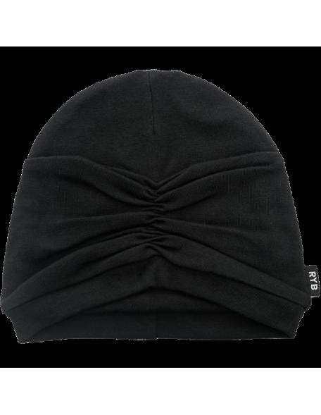CLOCHE Mütze Black