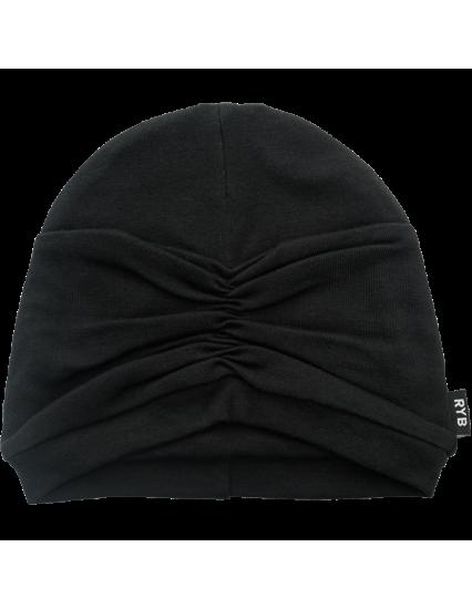 CLOCHE Hat Black