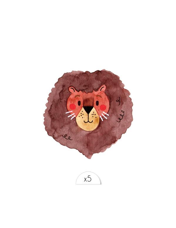 LION Kinder Tattoos