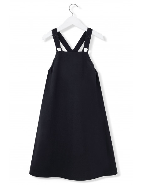 BLACK INK Dungarees Dress