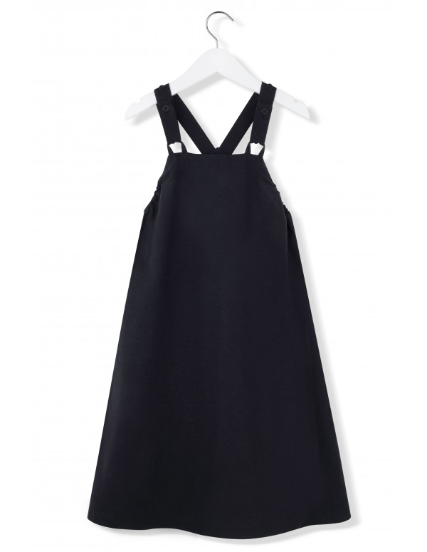 BLACK INK Dungarees Dress