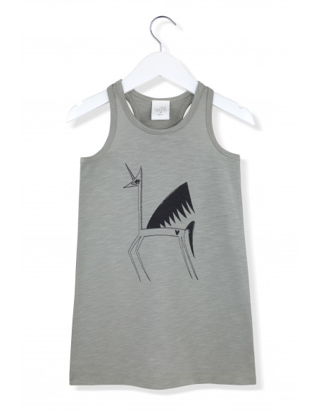 MISS UNICORN Tank Top Dress