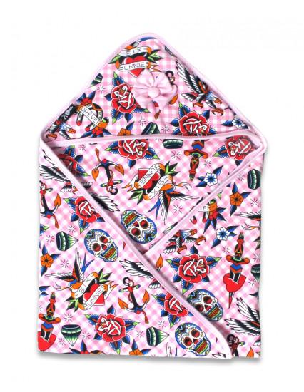 TATTOO SHOPPE PINK Blanket