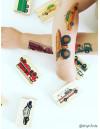 TRAFFIC Temporary Tattoo