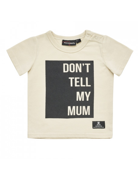 DON'T TELL MY MUM Baby T-Shirt