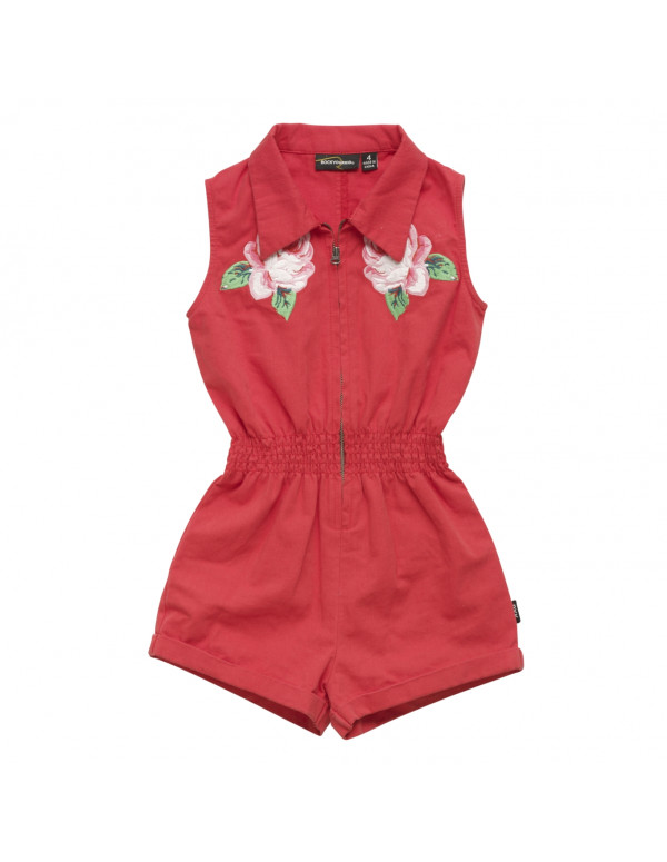 EMBROIDERED ROSE Jumpsuit