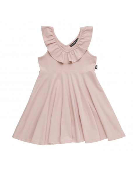 RUFFLED Sleevless Dress