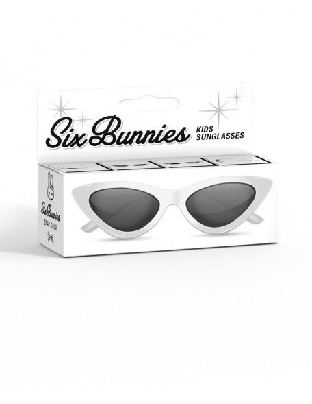 CAT EYE-WHITE Retro Sunglasses