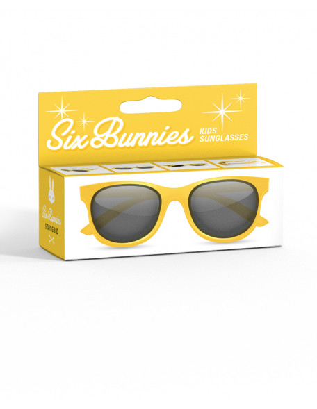 WAYFARER YELLOW Sunglasses