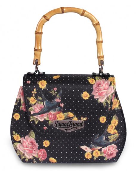 SPARROWS BLACK Handbag