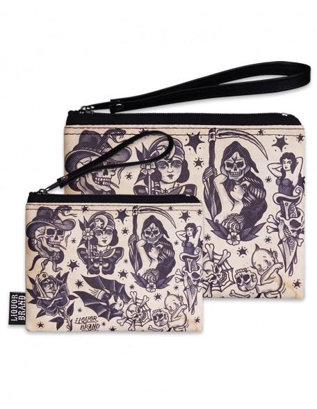 TRADITIONAL FLASH Cosmetic Bag