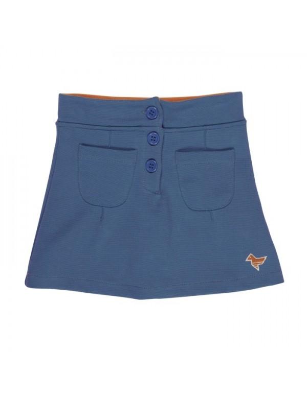 JUPIN blue fancy skirt