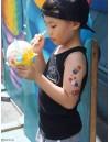 ICE CREAMS Temporary Tattoo