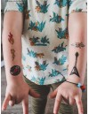 ROCK'N'ROLL Temporary Tattoo
