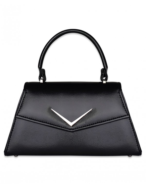CHEVRON BLACK Handbag