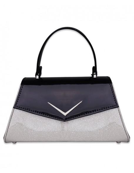 CHEVRON WHITE Handbag