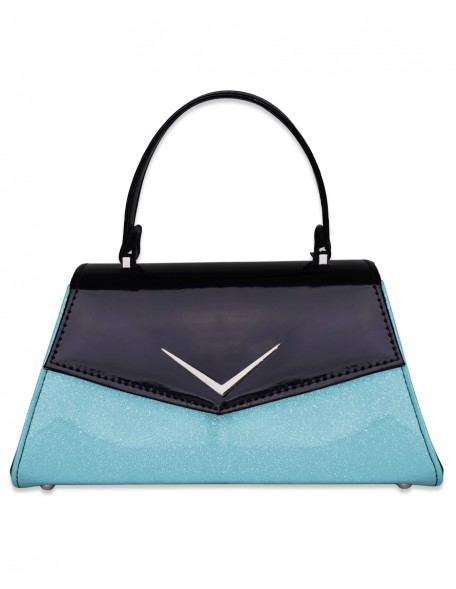 CHEVRON BLUE Handbag