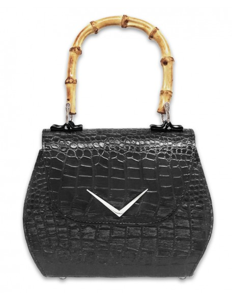 CROCODILE BAMBOO Handbag