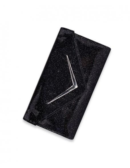BLACK GLITTER Wallet
