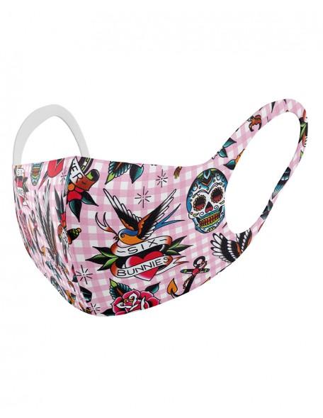 TATTOO SHOPPE PINK Childrens cloth mask