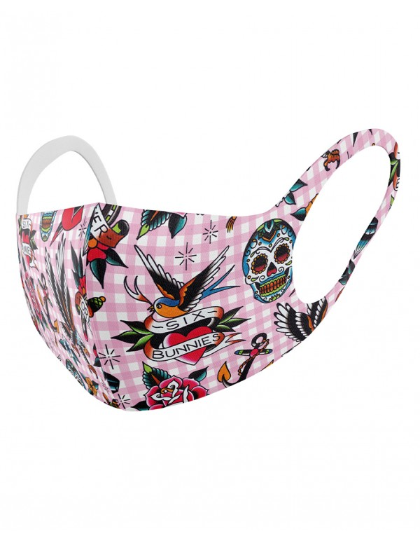 TATTOO SHOPPE PINK Childrens cloth mask