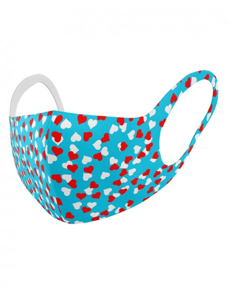 HEARTS Childrens cloth mask