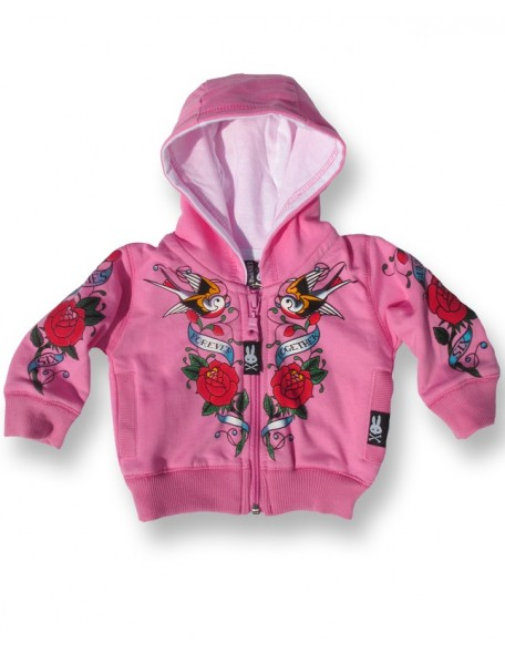 FOREVER TOGETHER Pink Baby Hoodie
